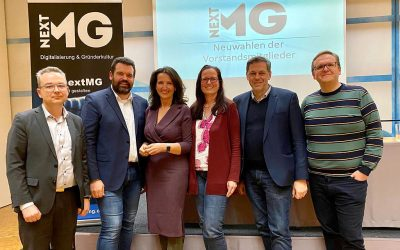 Duo Sebastian Leppert und Susanne Feldges leitet ab sofort den Digital- und Gründerverein nextMG